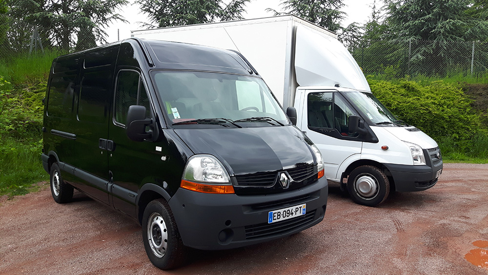 Transport de marchandises à Nancy, location d'utilitaires avec chauffeur à Nancy